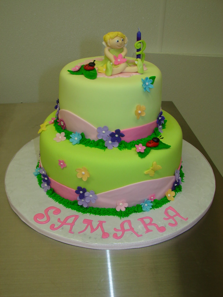 Samaras 3rd Tinkerbell Birthday Cake A Photo On Flickriver