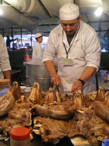 Sheep's Head Food Stall, Marrakech