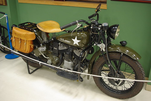 Indian military motorcycle