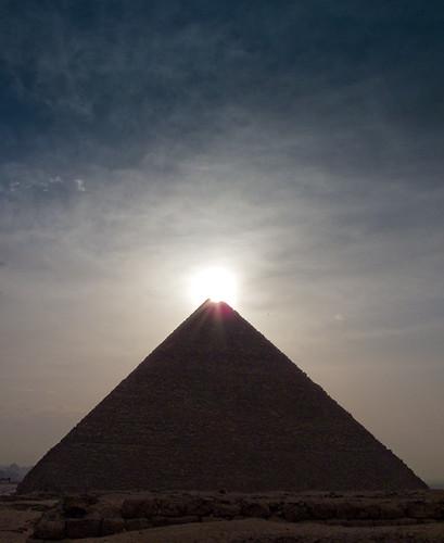 sunrise ancient ruins egypt cairo pyramids giza khufu egyptology oldkingdom