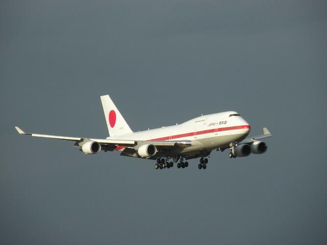 JAPAN GOV. B747