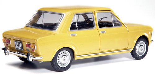 La fiat 128 un auto di categoria media che piacque a tutte for Modellino concorde
