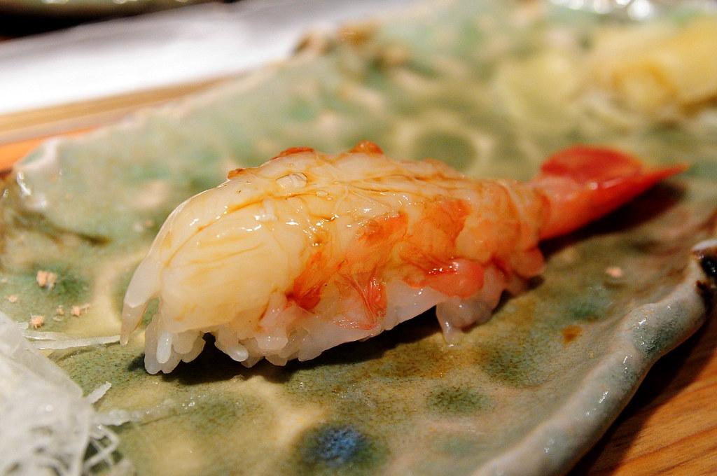 筌壽司-牡丹蝦握壽司