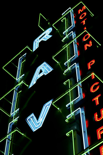 rave movie theater