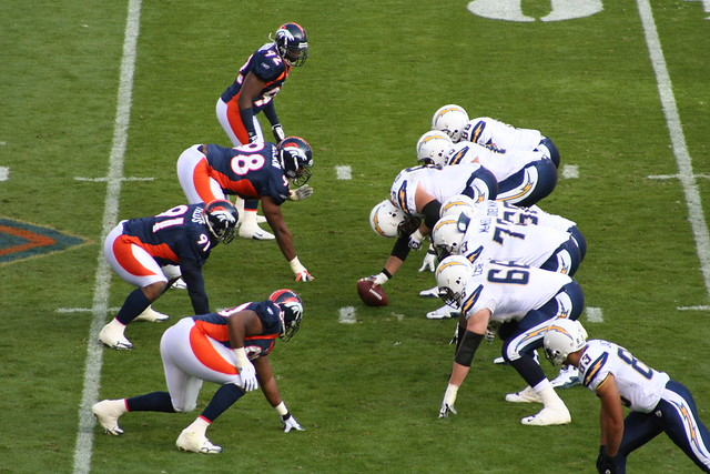Broncos / Chargers from Flickr via Wylio