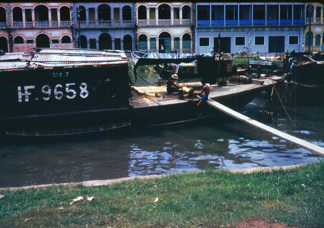 Bến Bình Đông - kênh Tàu Hủ, con đường lúa gạo của SG trước đây