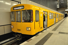 U55 Train Berthed at Hauptbahnhof