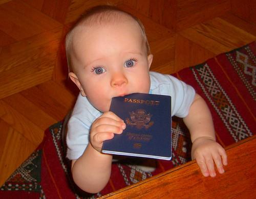 Finn has his passport