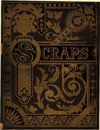 Vintage Scrapbook Cover ~ Eastlake victorian the chromolithograph