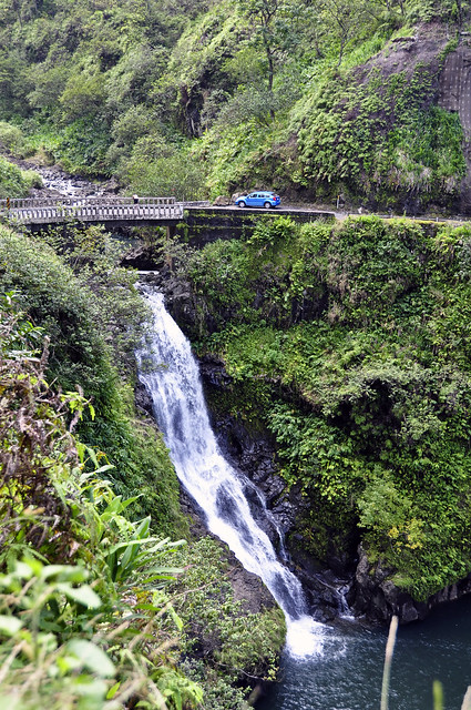 Hana Highway Waterfall