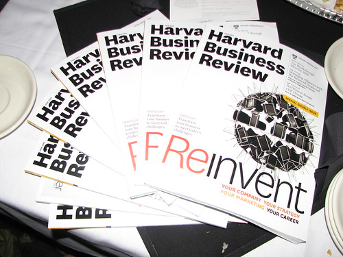 Harvard Business Review Redesign Tweet-up