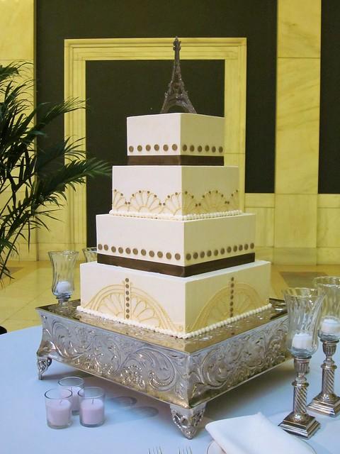 wedding cake - Art Deco Flickr - Photo Sharing!