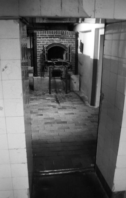 Crematorium, Mauthausen-Gusen Concentration Camp, Linz, Austria, 1997, by Photo Tractatus @ Flickr