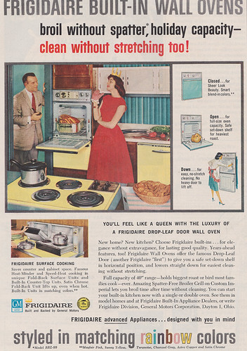 Frigidaire Built-in Wall Ovens 1959