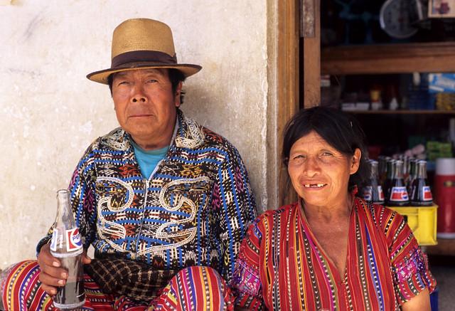 Solola Couple Guatemala