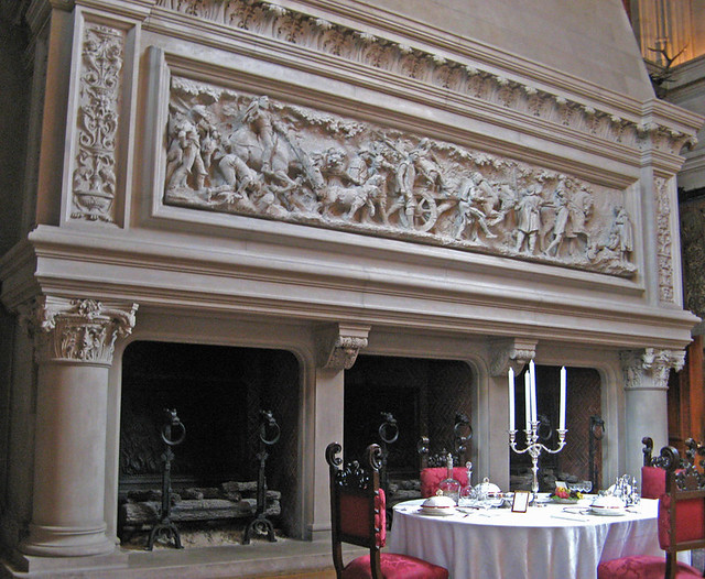 dining room fireplace biltmore mansion asheville north the dining room biltmore