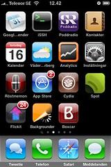 Spot i min iPhone
