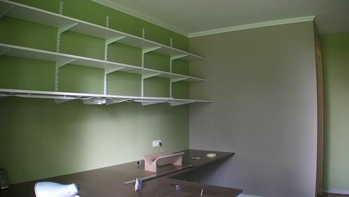 fontaine sous jouy le blog de sandrine et serge le bureau de sandrine derniers travaux. Black Bedroom Furniture Sets. Home Design Ideas