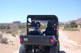 Moab Desert ATV'ing