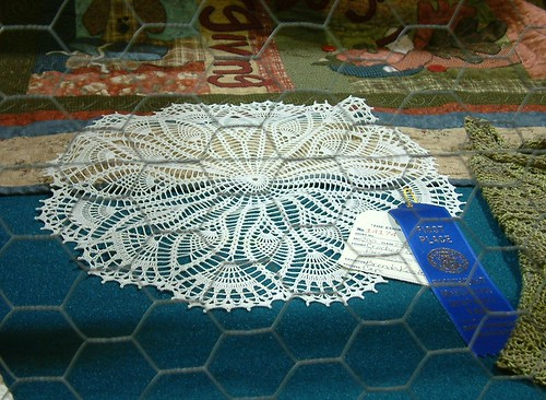154th SEMO District Fair Cape Girardeau MO My Doily Won First Place!