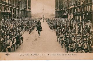 Paris - 14 Juillet 1916