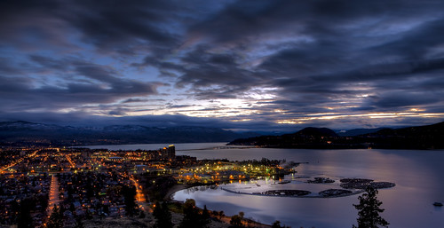 longexposure night canon bc dusk britishcolumbia explore kelowna hdr highdynamicrange lseries explored 2470mmf28l 5dmkii