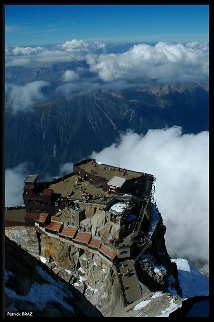 La terrasse de l'Aiguille