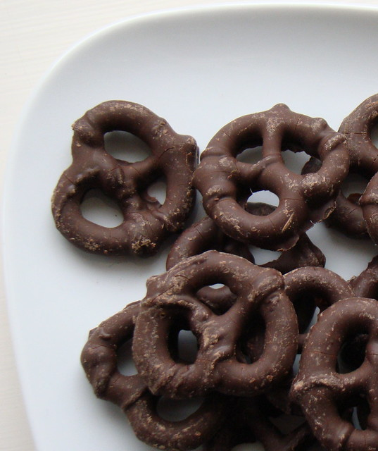 Chocolate Covered Pretzels Healthy Snack