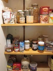 shelf, food, pantry, canning,
