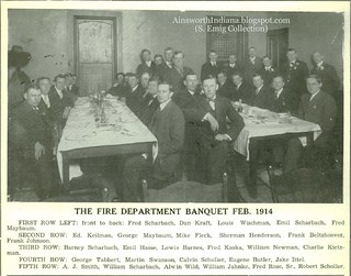 HFD banquet February 1914
