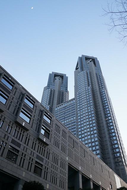 新宿都庁。テストアップ