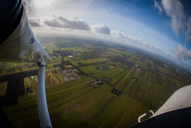 Flying the C206 in the Netherlands