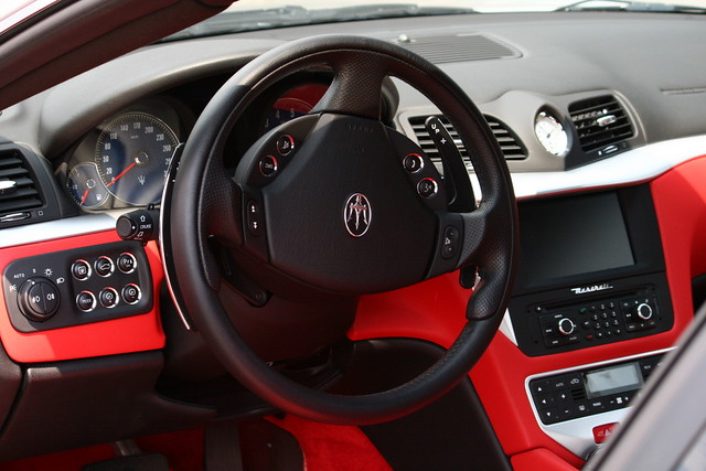 Maserati granturismo s interior flickr photo sharing for Maserati granturismo s interieur