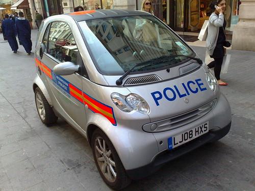 Smart ED Police Car