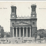 Paris, Eglise Saint Vincent de Paul, 1906