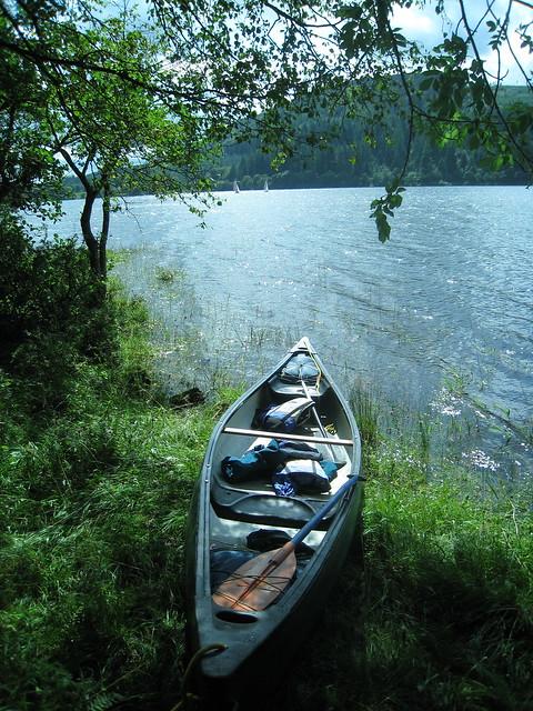 Mooring on Loch Ken