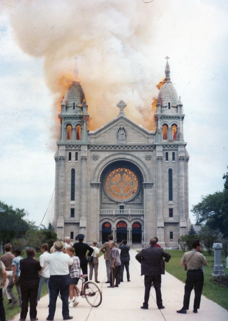 St. Boniface Cathedral fire | From July 22, 1968 - St ...