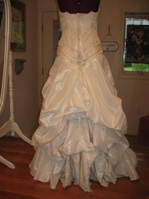Wedding Gown Bustle