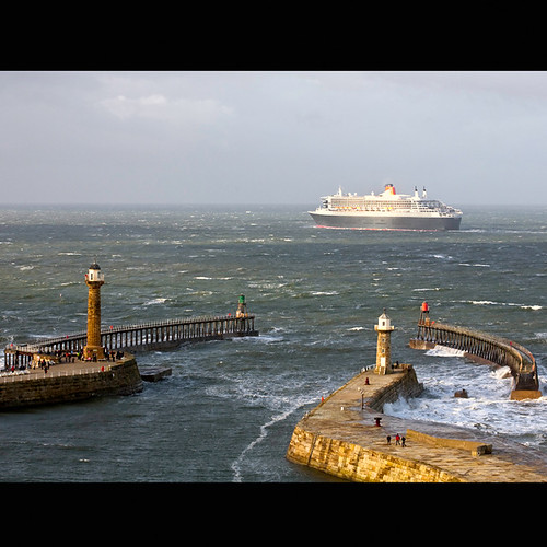 Queen Mary 2, Whitby.....