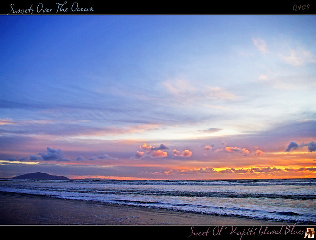 Sweet Ol' Kapiti Island Blues - (Sunsets Over The Ocean II)