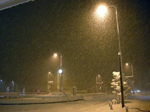 winter snow landscape nightview 雪 冬 yamagata 風景 山形 yonezawa 米沢