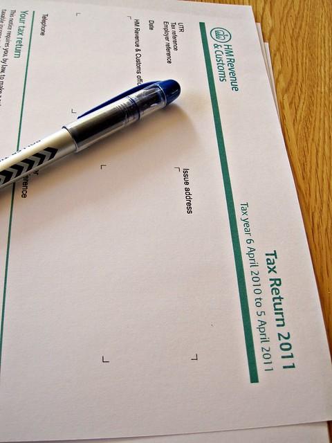 Completing Tax Return Let Property