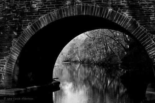 "arcofshadow february 52in2017 week8 ""theme shadows tonality monochrome black whiten stone bridge wissahickon creek valley forbidden drive stream river pa philadelphia"