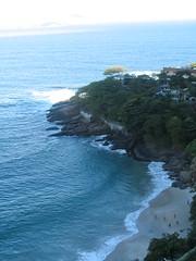 cape(0.0), inlet(0.0), cove(0.0), islet(0.0), cliff(0.0), beach(1.0), sea(1.0), ocean(1.0), headland(1.0), bay(1.0), body of water(1.0), wind wave(1.0), promontory(1.0), wave(1.0), shore(1.0), terrain(1.0), coast(1.0),