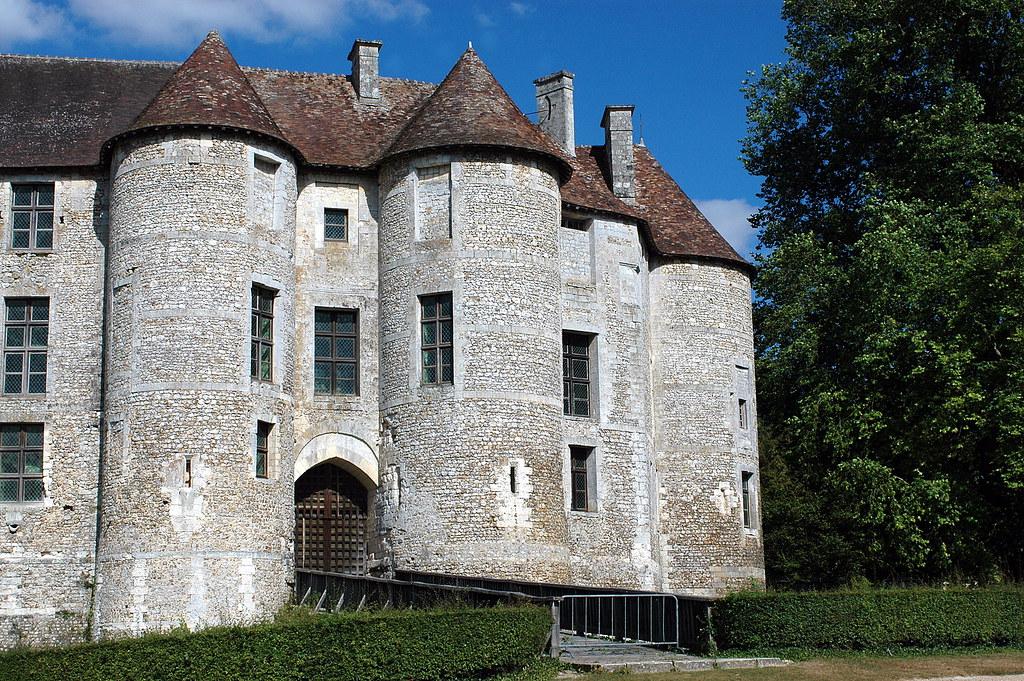 Castillo Alta Normandia