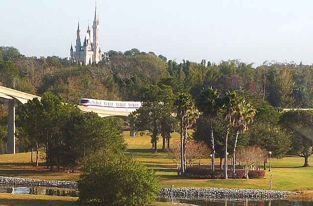 "Kingdom View AND ""Walk Around the World"" from the Monorail"