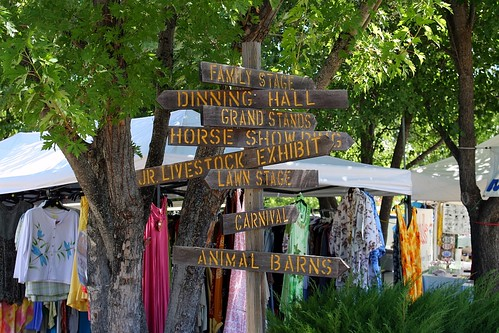 Trinity County Fair --  Signpost