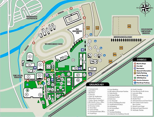 2009 Memory Map of the Nebraska State Fairgrounds