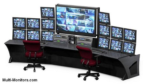 Crown trading systems multi monitor computer