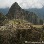 Clouds Lift From Machu Picchu - Peru